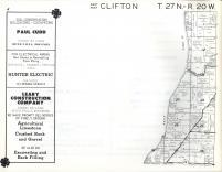 Clifton T27N-R20W, Pierce County 1960
